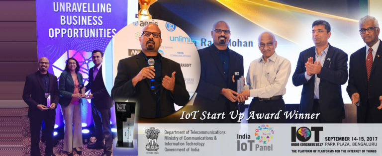 TrakitNow wins IoT Start-up Award