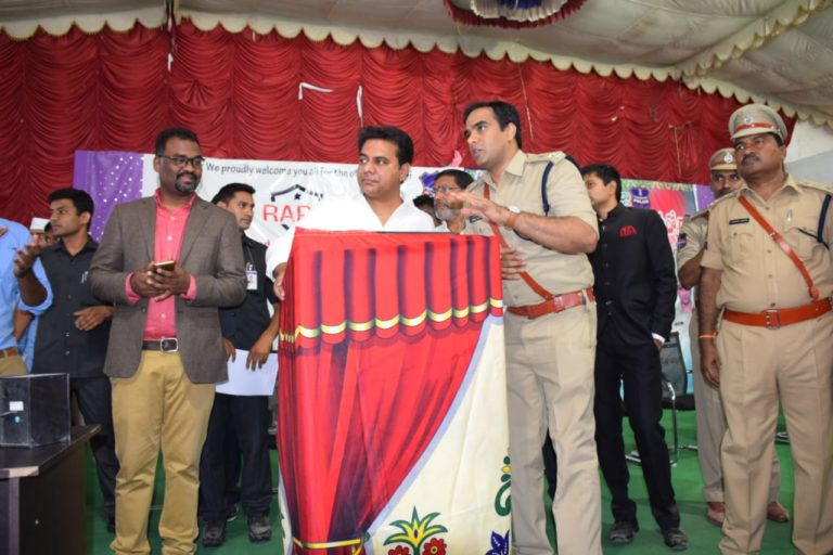 RapidCop Launch at Siricilla – Telangana