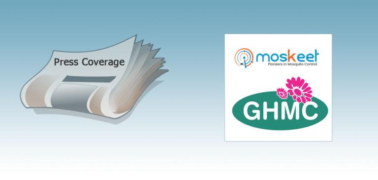 Moskeet POC Press Coverage – GHMC, Telangana