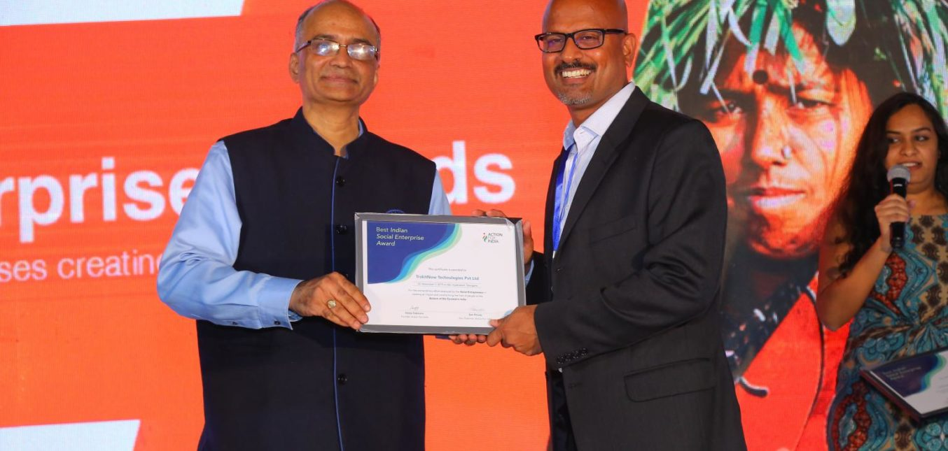Won the AFI Best Indian Social Enterprise Award